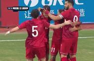 国足开场18分钟遭重创:王刚带球失误被打反击,叙利亚轻松破门