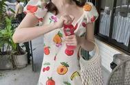 是水果味的夏天!!让人心动的水果女孩look