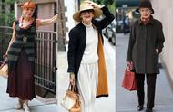 时尚与年龄无关,看七十岁奶奶的时髦穿搭,就应该这样优雅的老去