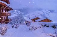 瑞士雪天,真正的童话世界