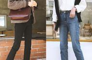 利落干练的秋冬裤装搭配,工作装的懒人穿法