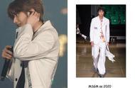 蔡徐坤白色西服王子出场,这一刻他是最好的坤坤