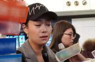 黄心颖机场落泪:不再回应与许志安的出轨风波