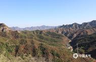 河北石家庄仙台山红叶进入最佳观赏期