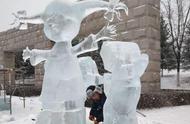 """长春终于下雪了!快来围观我们的""""雪世界"""""""