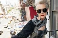 63岁做时尚博主,朋克又个性!谁说年纪大了就该穿得保守朴素?
