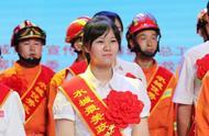 """齐鲁壹点优秀通讯员钱苗苗被评为""""最美政府专职消防员"""""""