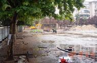 西京社区业主质疑绿地铲了铺水泥 物业:三供一业改造需要