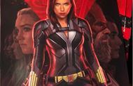 黑寡妇新海报出炉 紧身衣凸显好身材