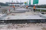 石安高速管理处首个收费站入口称重设备安装完成
