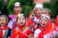 少数民族学生对祖国唱出爱的告白