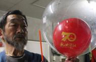 国庆演练气球疑似飘到日本北海道,网友:把喜悦传给全世界