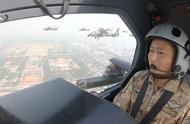 独家视角 空中护旗梯队及飞行员风采