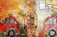 """【少先队风采】""""遇见未来的自己——我和梦想职业有约""""河东区少先队员用绘画方式喜迎中国少年先锋队建队70周年"""