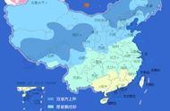 全国换被子地图来了!西南持续阴雨 薄被即可
