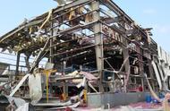 玉林化工厂爆炸,铁片飞砸附近驾校人员