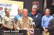 加州森林火灾失控,狂烧5万英亩,20万人紧急疏散……