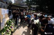 """""""罗伯伯,一路走好!""""香港市民自发悼念遇害老人"""