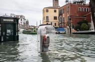 """""""水城""""威尼斯被淹,热门景点变成了这样……"""