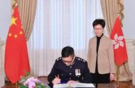 """香港警队新""""一哥""""上任!对于恢复社会秩序,他说了这样一番话"""