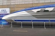 未来交通大会浙江启幕,时速600公里磁悬浮列车的真车亮相
