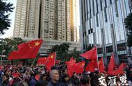 香港市民大规模集会,呼吁支持警察,反对暴徒破坏