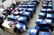 四川内江5.2级地震,学生躲课桌下避险
