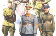 昔日的帝国,军服图解:二战苏联军服图集