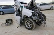 雷克萨斯GX460无法言说的事故,竟让拆车商也犯了难!