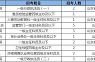 2020国考报名第一天-济南职位统计分析「截至10月15日16点」