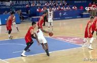 中国男篮大胜美国19分,豪取二连胜!王哲林27+10,田宇翔6中6