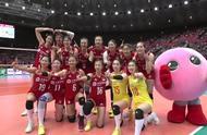 中国女排横扫阿根廷 11战全胜卫冕世界杯冠军 朗导满含热泪