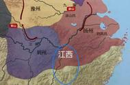"""江西省2000年变迁:最早""""江西""""在安徽,元朝""""江西""""管着广东"""