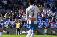 武磊西甲首球!读秒扳平比分拯救西班牙人,队友疯狂拥抱庆祝