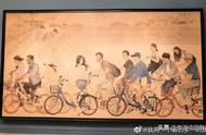 """中国美术馆画中""""惊现""""易烊千玺 赞哦"""