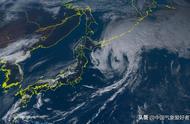 台风海贝思在日本倒下破纪录暴雨,洪灾肆虐!新干线高铁惨遭淹没