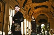 霍尊复古黑色刺绣西装,一身古风造型玉树临风,大家喜欢吗?