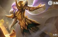王者荣耀:张良-黄金白羊座技能及回城展示
