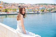 迪丽热巴:一个人的婚纱照,送给27岁的自己