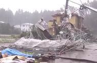 """台风""""海贝思""""即将登陆 日本千叶突发龙卷风致1死5伤"""