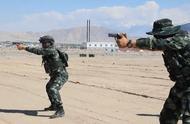 反恐利剑之新疆武警特战队短片