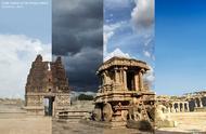 这是世界各地的8个不同地点四季的变化