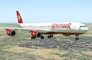 行为奇怪的A340号客机,莫名奇怪地降落在德里机场