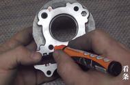 用发动机零部件自制浓缩咖啡压缩机,这样不会有汽油味吗