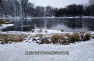 冰河奇观:零下40度仍然奔流不息的库尔滨河