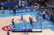 北京德比战,首刚87-79北控。林书豪只得16分。
