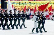 国庆60周年盛大阅兵,14个徒步方队,21世纪以来第1次国庆大阅兵