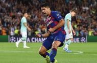 欧冠:苏亚雷斯2球,梅西助攻绝杀!巴萨2-1逆转国际米兰!