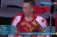 正在直播:男子全能决赛  中国体操队肖若腾获得15.025高分