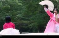 绿豆传-俩人冰释前嫌,男主教她舞扇,暗生情愫,都是粉色泡泡